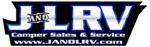 J & L RV Camper Sales & Service Logo