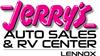 Jerry's Auto Sales & RV Center of Lennox Logo