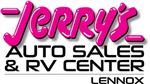 Jerry's Auto Sales & RV Center of Lennox Logo