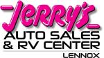 Jerry's Auto Sales & RV Center of Lennox
