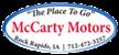 McCarty Motors Logo