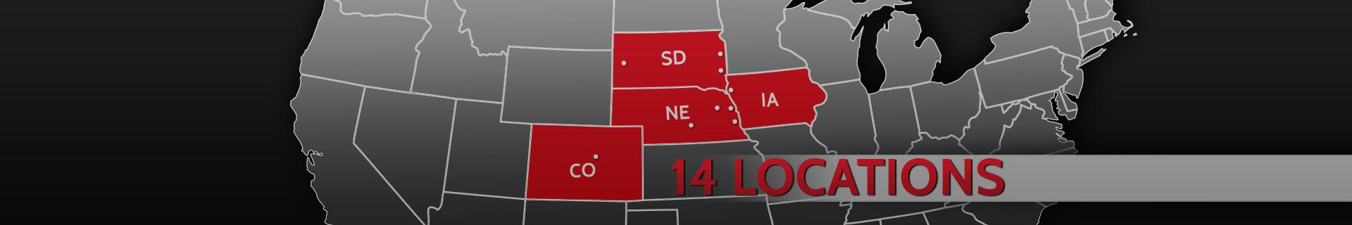 14 NATT Locations
