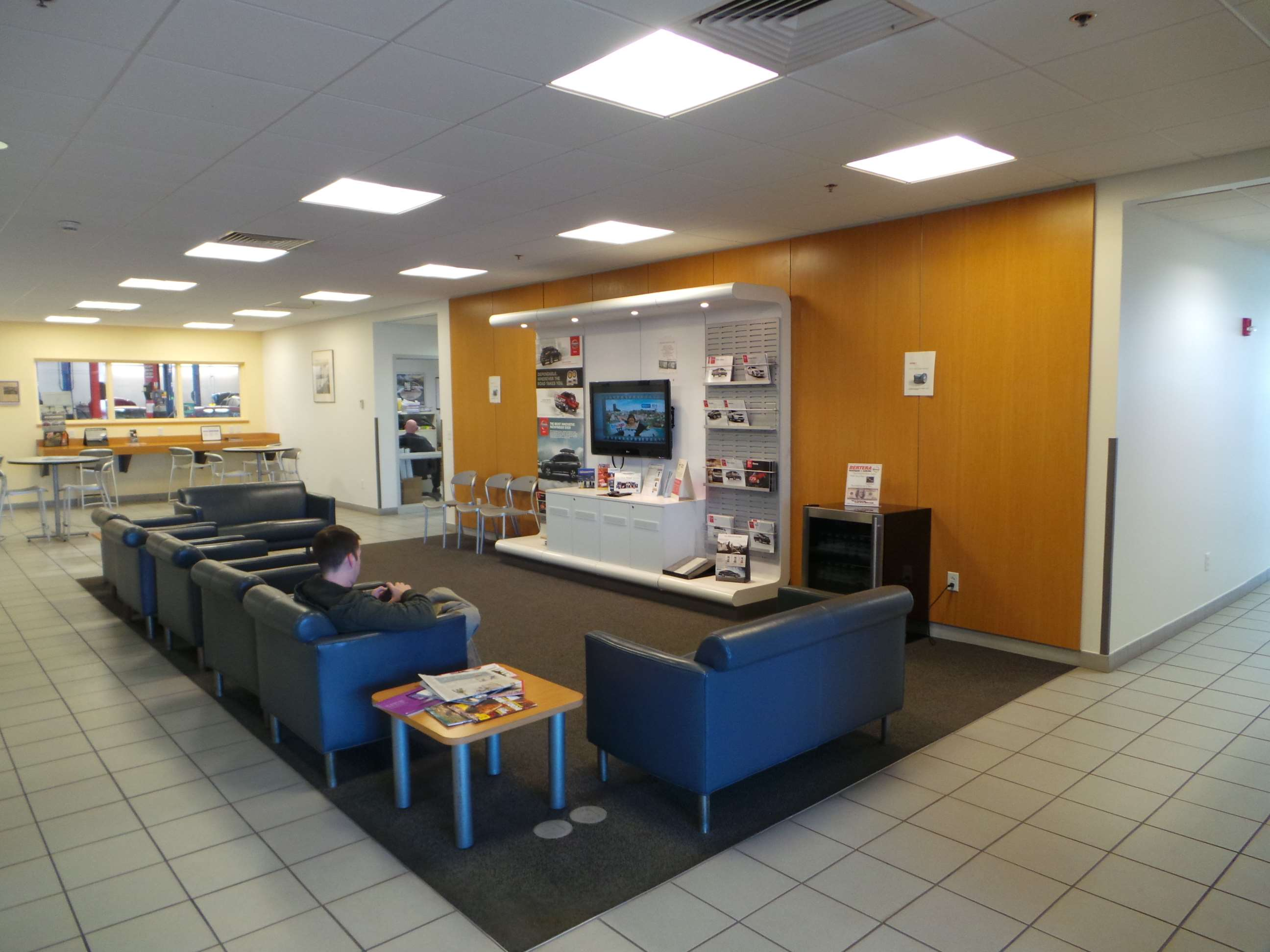 Bertera NIssan waiting area