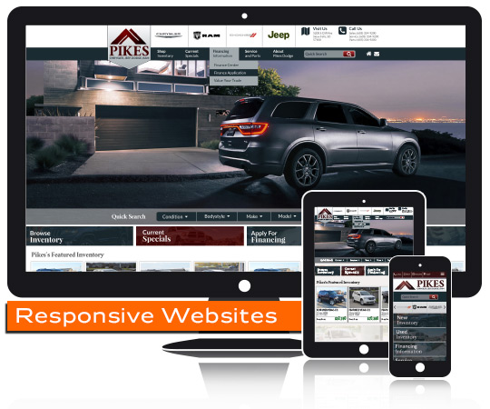 Carbase Responsive Websites Designer