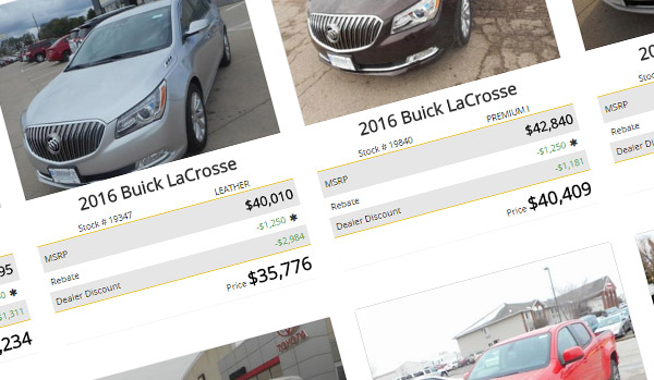 Carbase Responsive Dealer Website Example