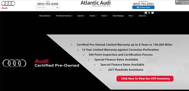 Atlantic Audi