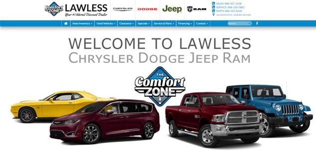 Lawless Chrysler Jeep Dodge Ram