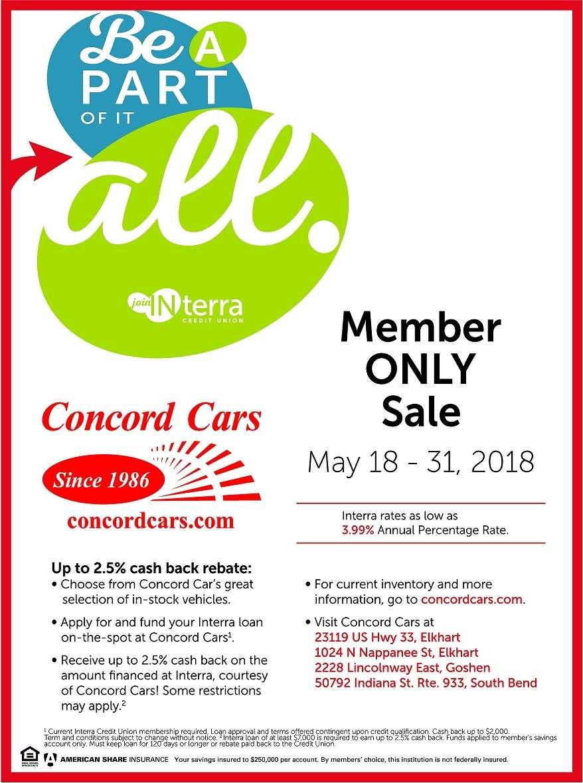 Interra Membership Concord Cars