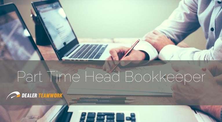 Part Time Bookkeeper - Dealer Teamwork - Career Post