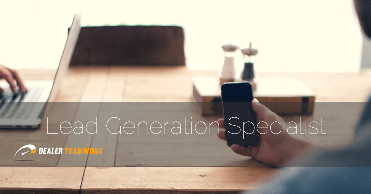 Lead Generation Specialist