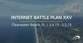 Internet Battle Plan XXV - Clearwater Beach, FL