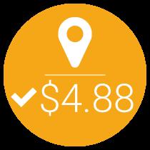$4.88 Cost-per-conversion