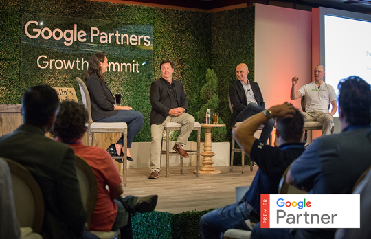 Sean Stapleton of Dealer Teamwork on a Panel at the Google Partners Growth Summit