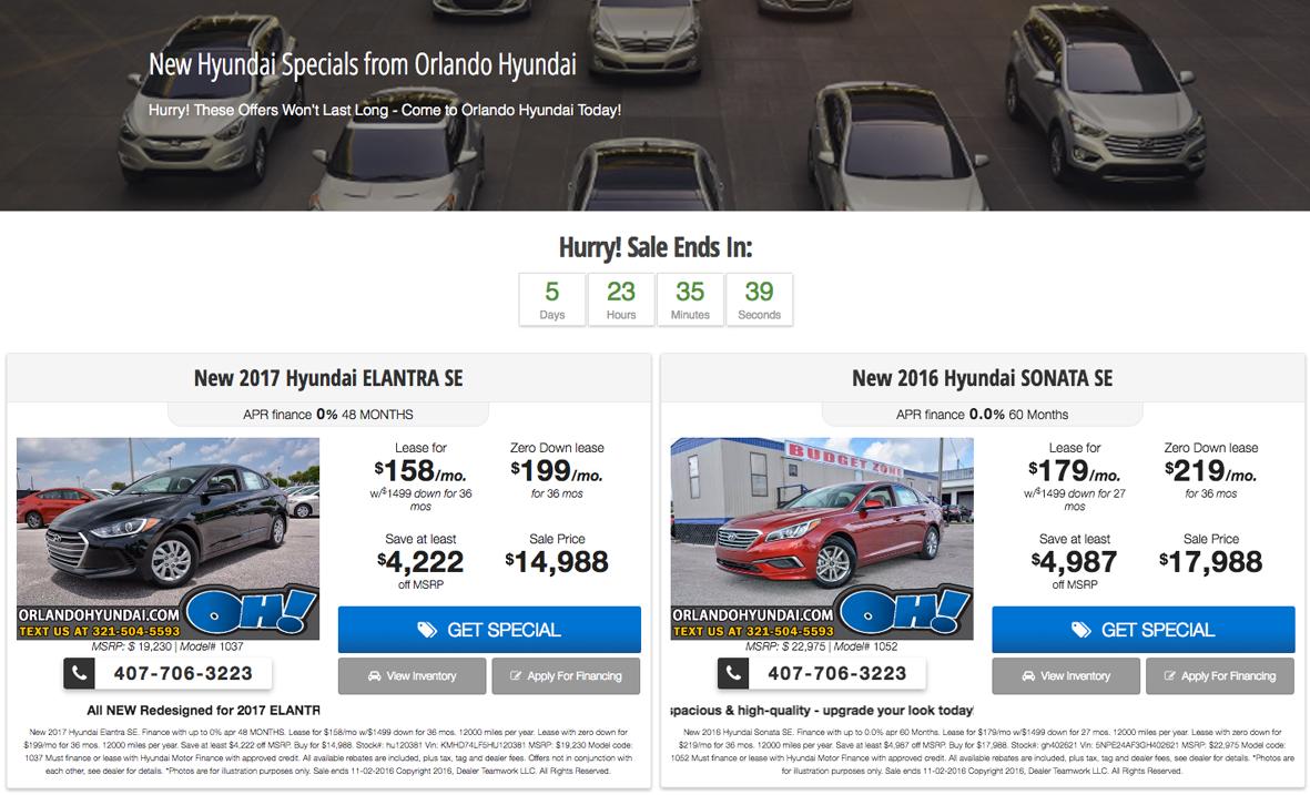 Orlando Hyundai DealerTeamwork Case Study