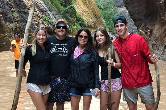 Sean Stapleton Family Photo