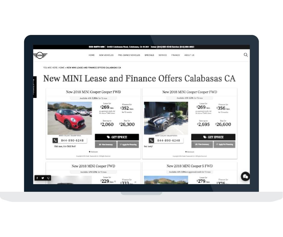 Dealer Teamwork MINI Automotive Marketing