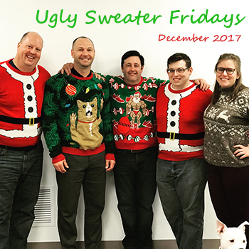 Ugly Sweater Fridays - December 2017