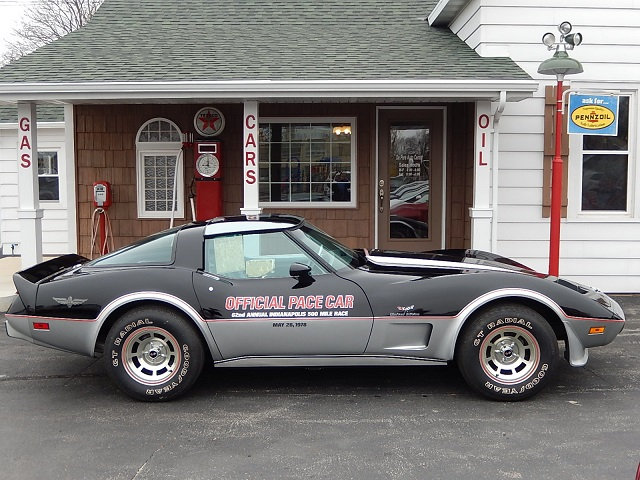 1978 Chevy Corvette Pace Car