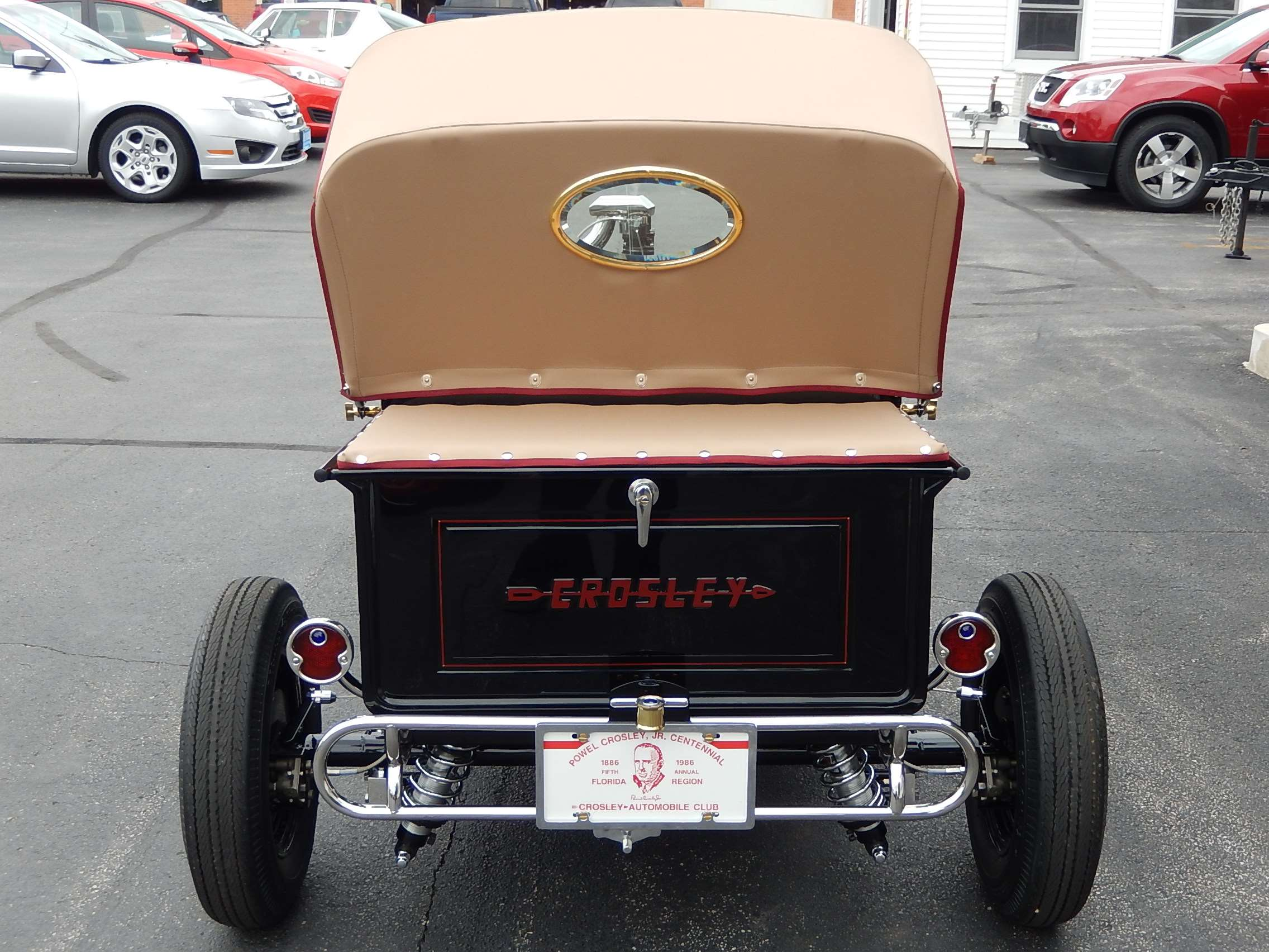 Crosley T Bucket Rear