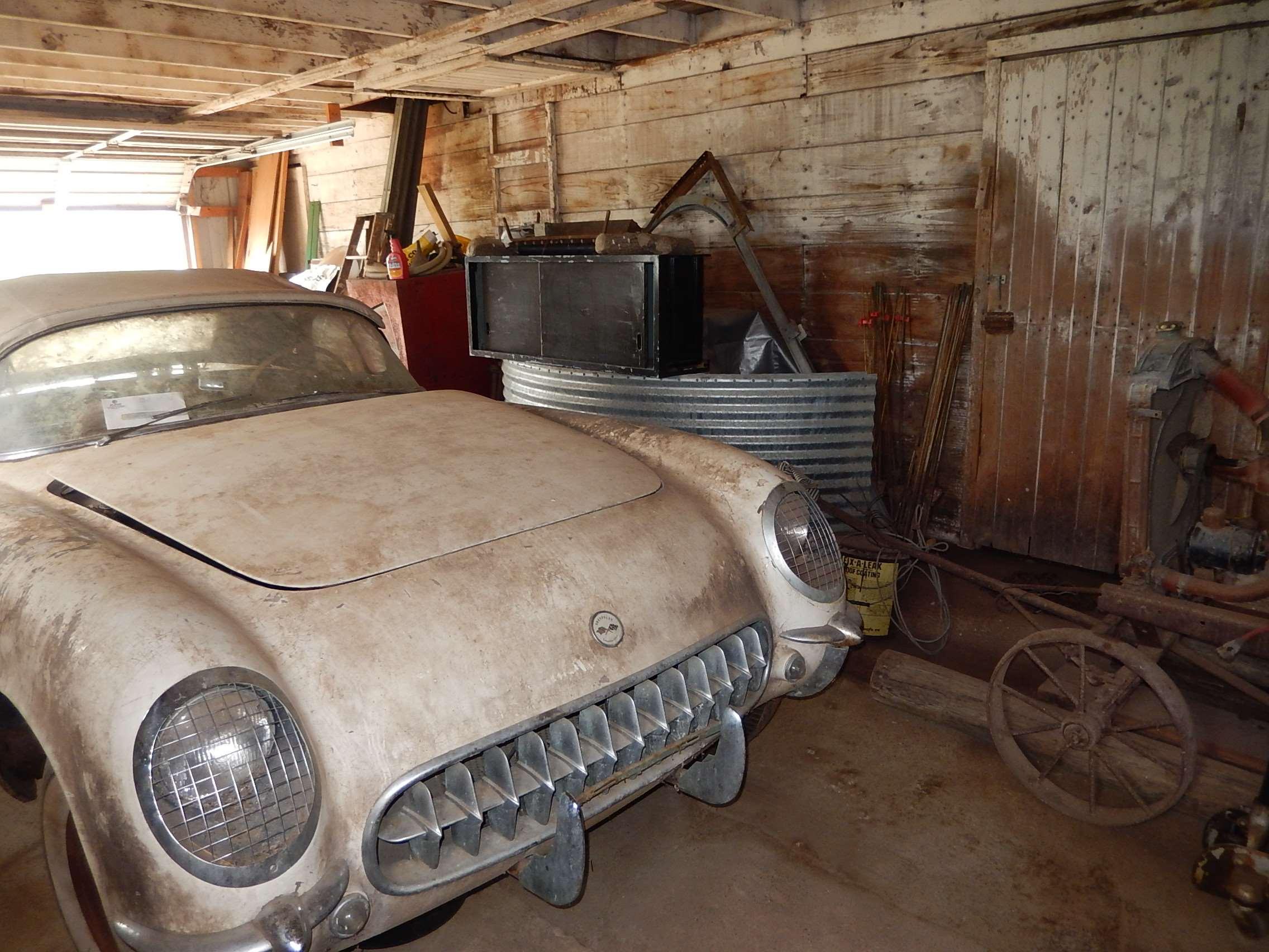 1954 Corvette Barn 2