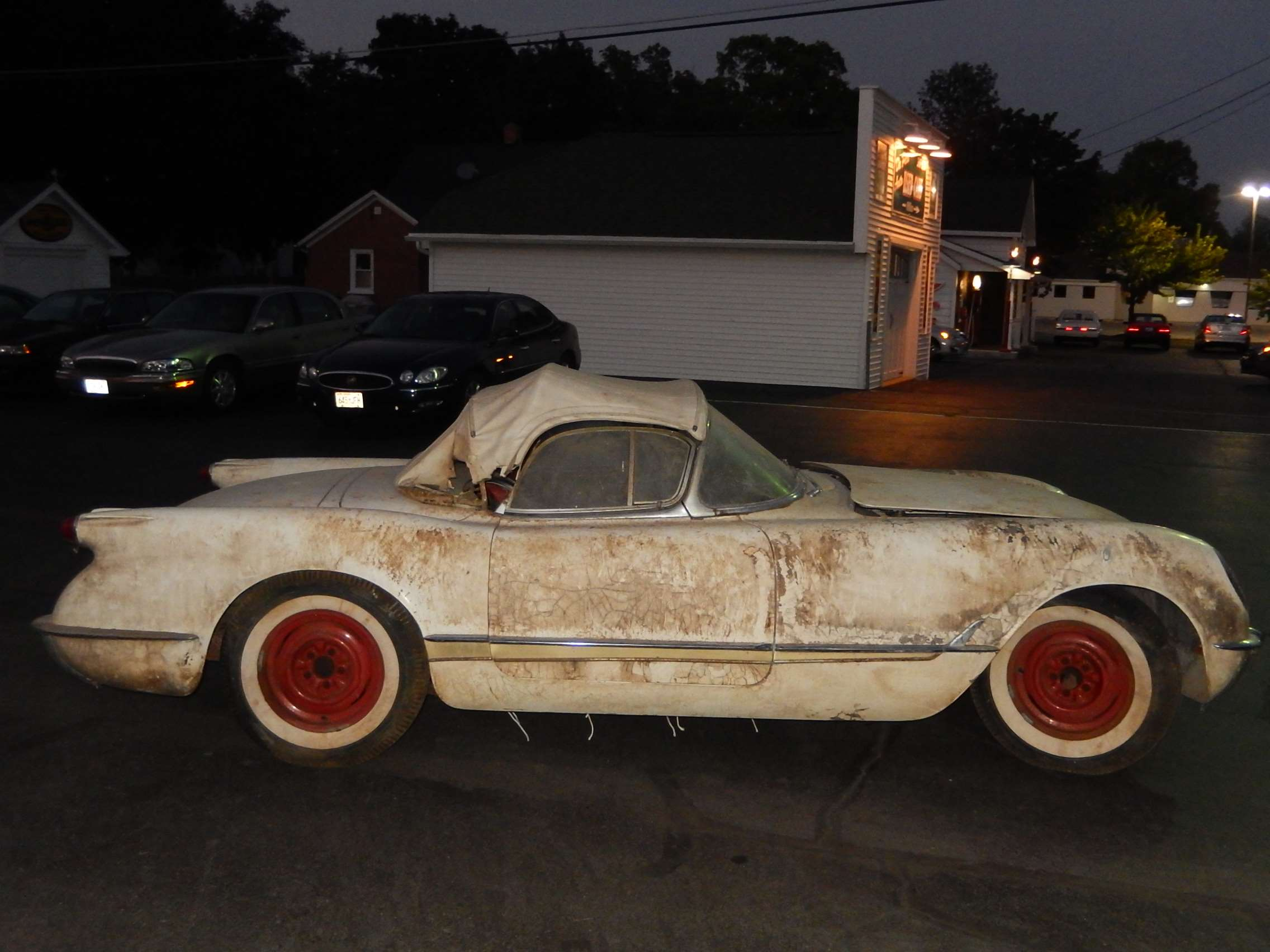 1954 Corvette Barn 5