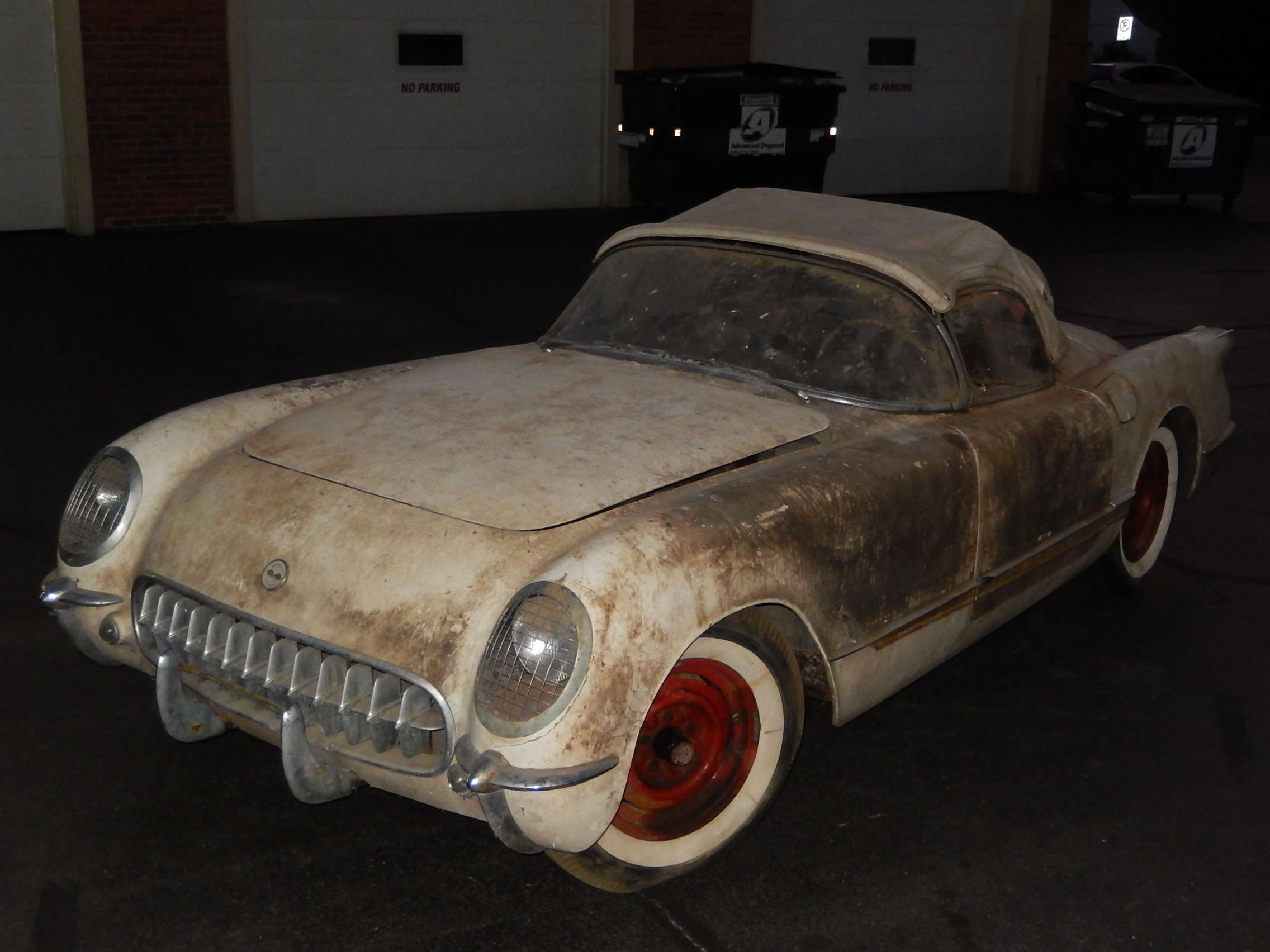 1954 Corvette Barn 7