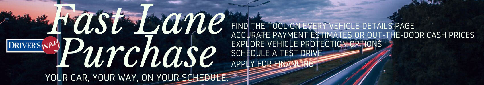 fast lane purchase tool