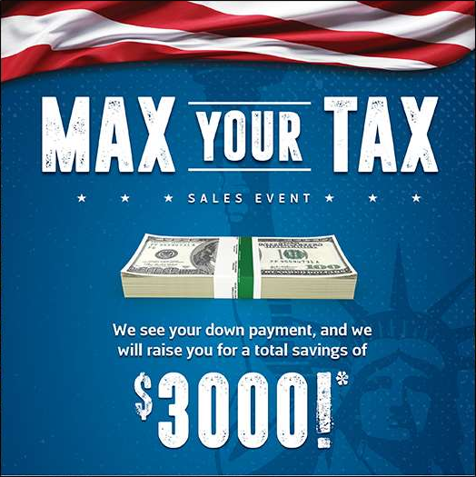 Max Your Tax with Easton Motors