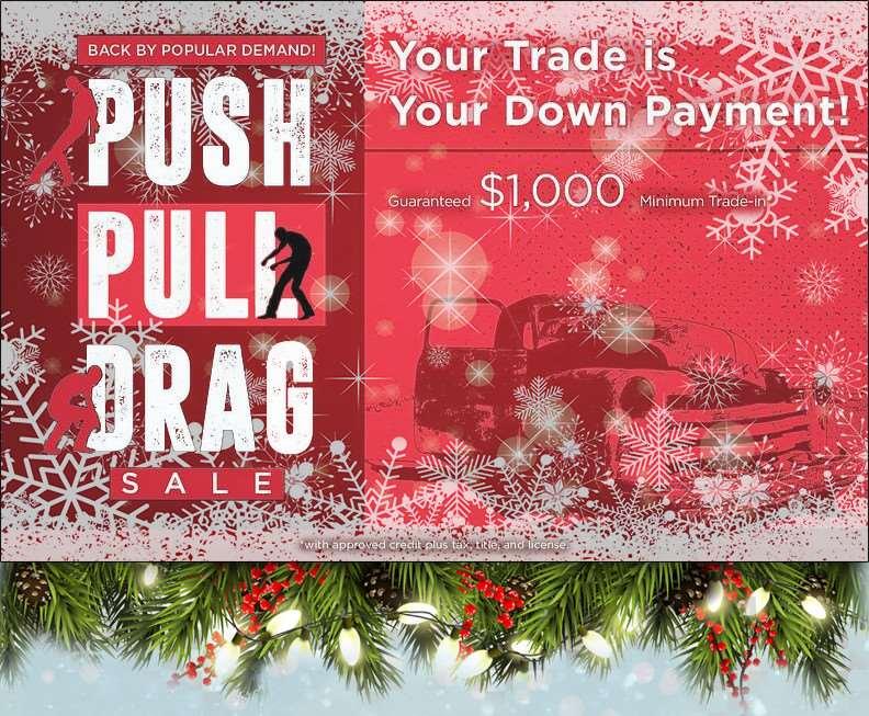 Push Pull Drag Sale