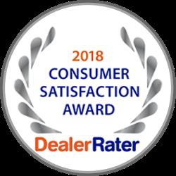 2018 Dealer of the Year Dealer Rater