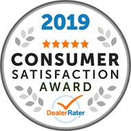 2019 Dealer of the Year Dealer Rater