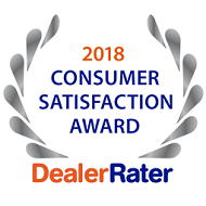 2018 Dealer of the Year Dealer Rater