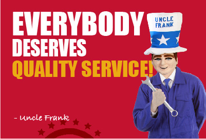 Everybody deserves quality service! - Tracy Myers