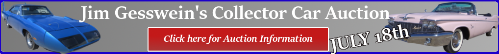 Classic Car Auction Click For More Info