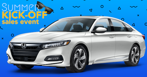 Summer Kickoff Sales Event-Honda Accord
