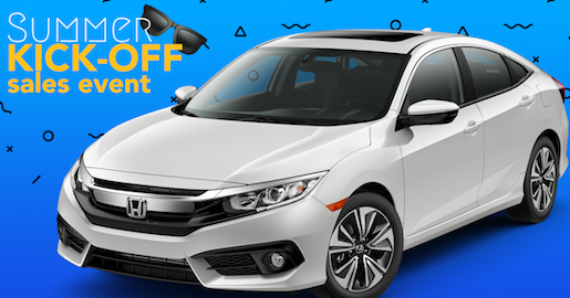 Summer Kickoff Sales Event-Honda Civic