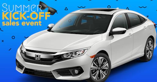 Summer Kickoff Sales Event-Honda Civic