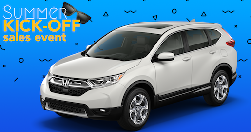 Summer Kickoff Sales Event-Honda CR-V