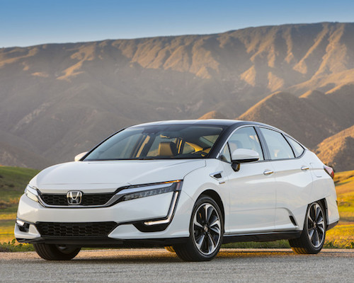 New Honda Clarity Fuel Cell