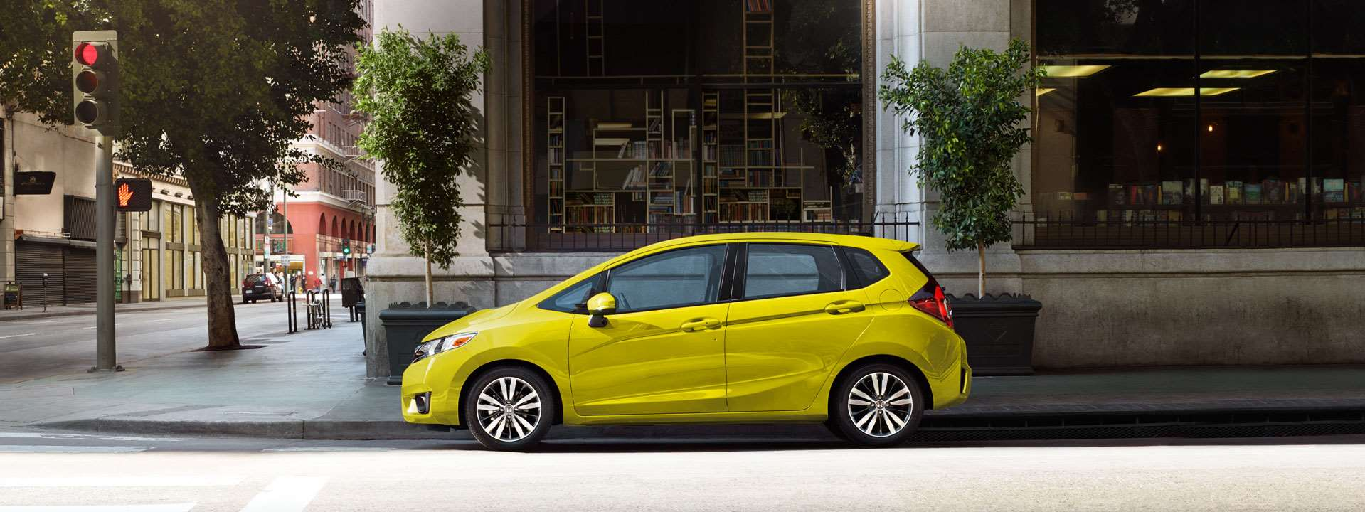 Honda Fit Yellow