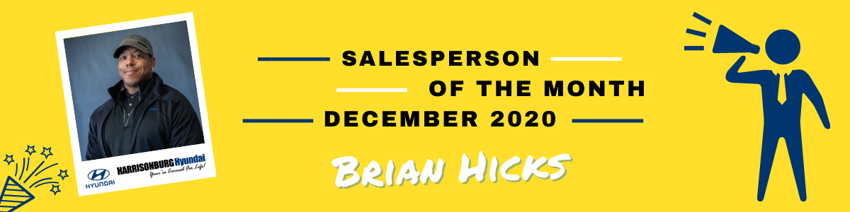Sales Person of the Month