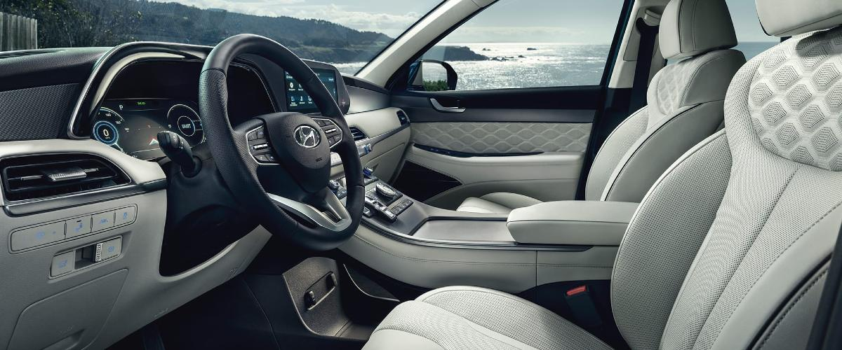 Hyundai Palisade interior near Charlottesville VA