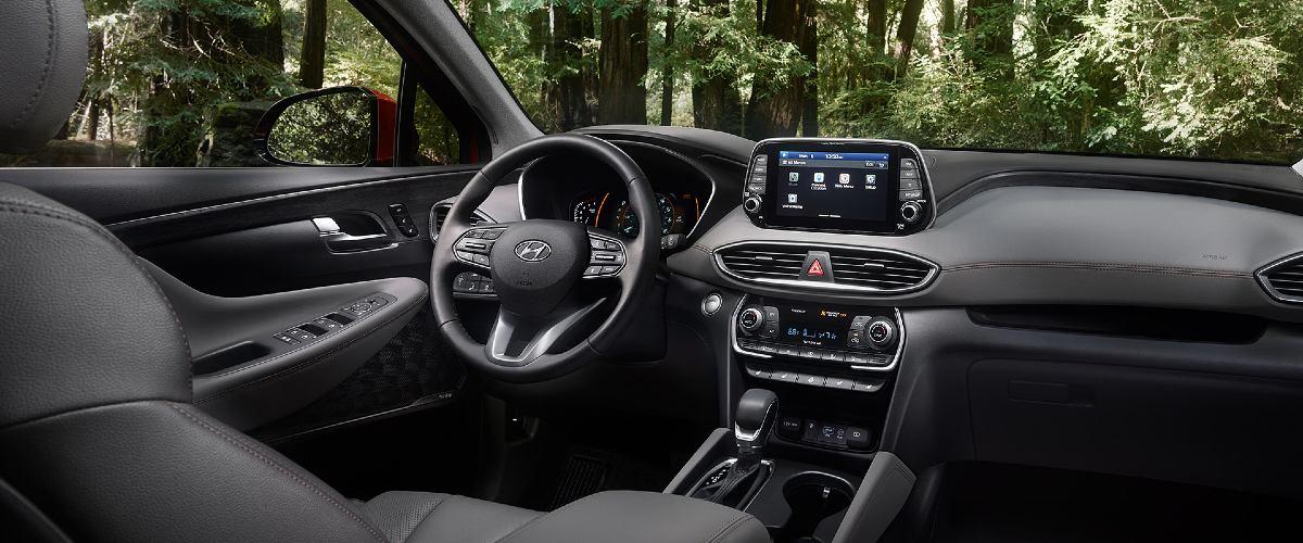 Hyundai Santa Fe Blacksburg VA interior
