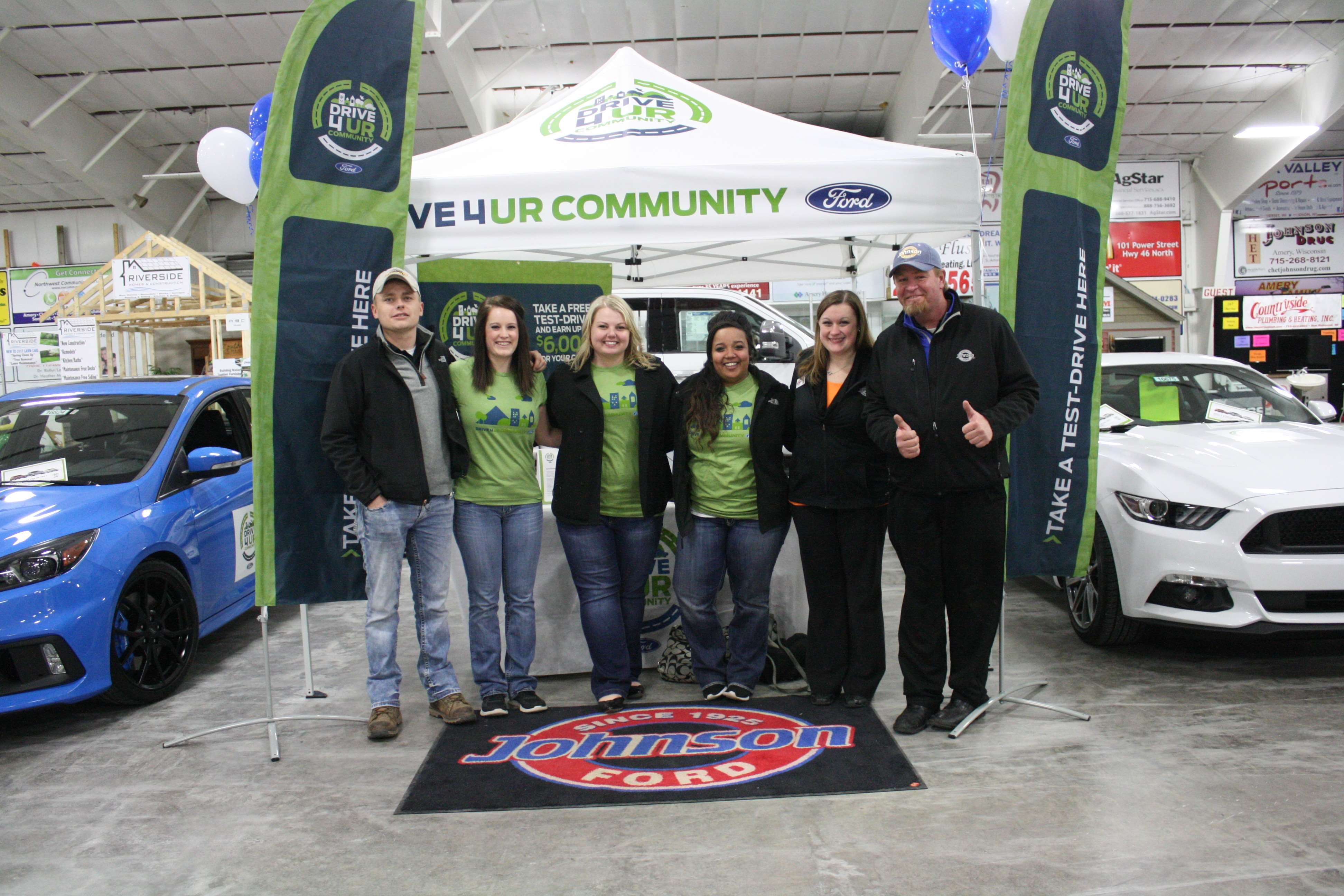 Drive for Your Community with Johnson Ford