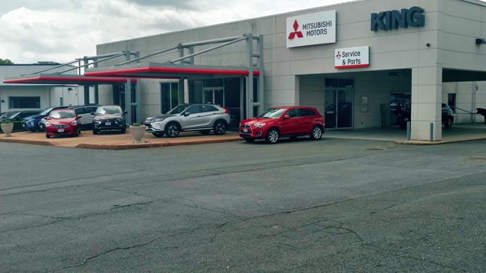 Image of the King Mitsubishi Dealership