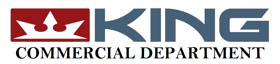 King Auto Commercial Department Logo