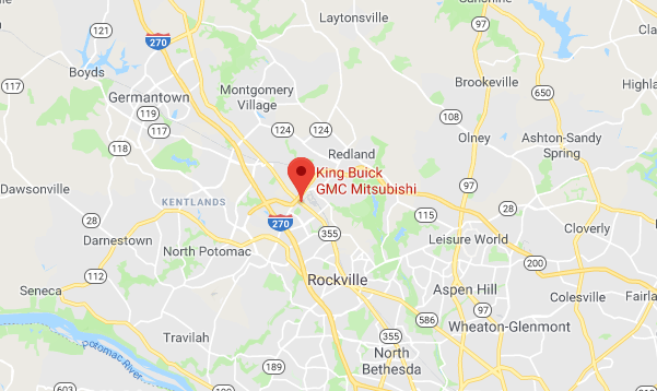 King Auto Group Map
