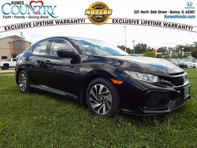 2018 Black Honda civic
