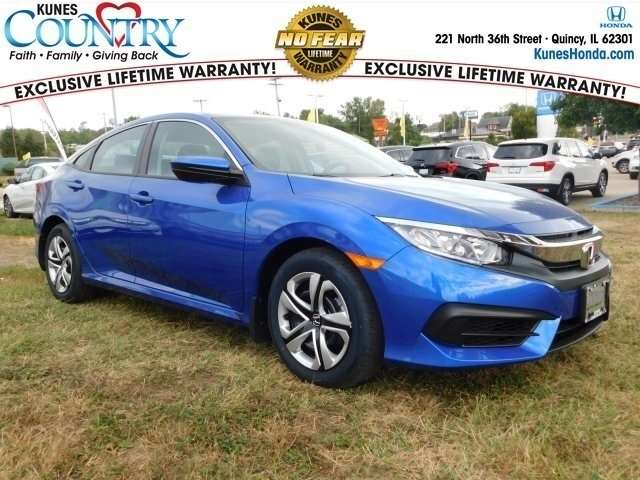 2018 Blue Honda Civic