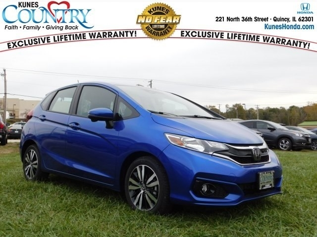 2018 Blue Honda Fit